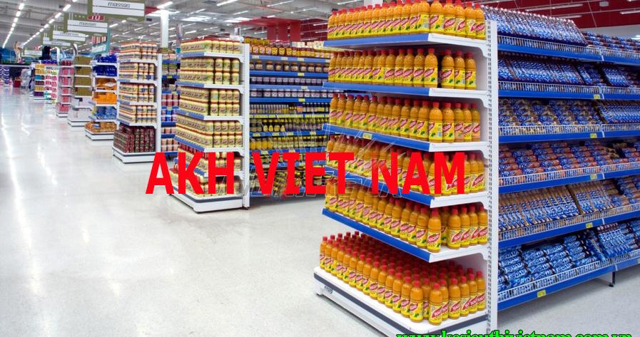lựa chọn giá kệ siêu thị cho từng mặt bằng
