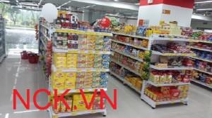 Giá kệ siêu thị, kệ sắt , kệ kho sử dụng công nghệ sơn tĩnh điện