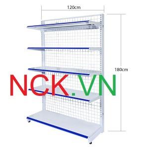 Giá kệ đơn siêu thị 120cm -180cm