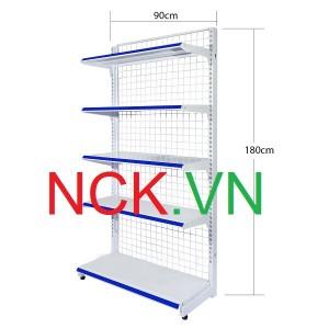 Giá kệ đơn siêu thị 90cm – 180cm